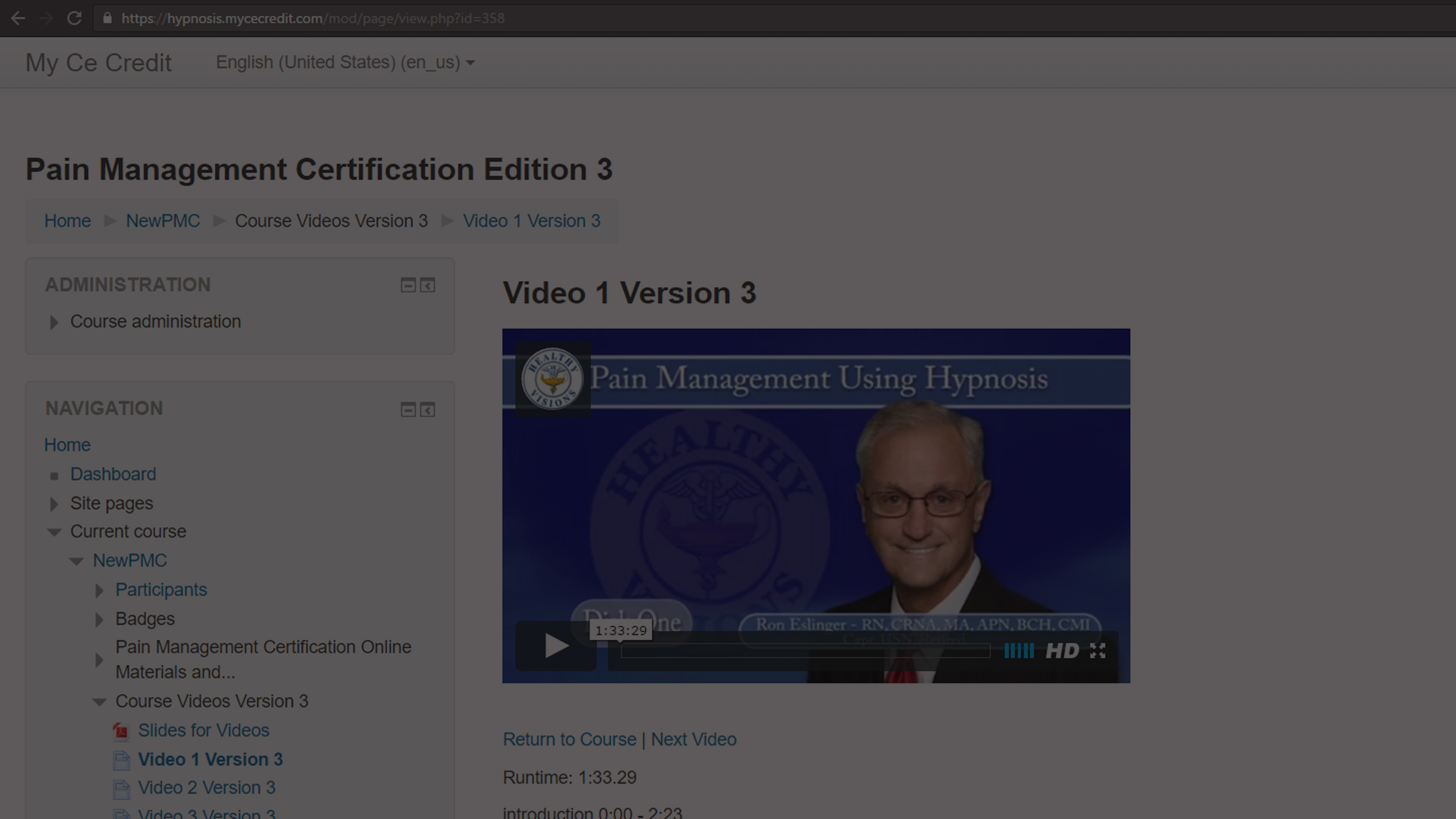 Hypnosis For Pain Management Certification Pain Management